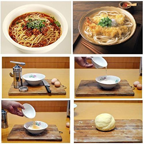 Edelstahl Noodle Maker Presse Mehl Maschine Frucht Juicer für Küche - 5