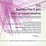A05 Business Plan 5 anni Start Up nuove iniziative
