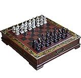 Tao Retro Chinesische Art-Internationale Schach-Terrakotta-Krieger und Pferde Schach-Geschäfts-Geschenk