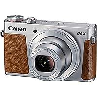 Canon PowerShot G9 X Kompaktkamera (20,2 Megapixel, 7,5 cm (3 Zoll) Display, Full HD, WLAN, NFC, Image Sync, 1080p) silber