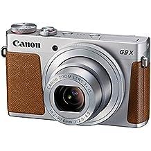 "Canon PowerShot G9 X - Cámara de bolsillo de 20.2 Mp (pantalla de 3"", zoom óptico 3x, estabilizador digital, vídeo Full HD), color gris"