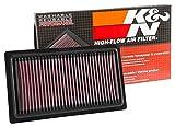#8: K&N 33-3052 Car Air Filter