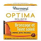 VITARMONYL - Optima Solaire Bronzage Et Teint Soleil - Prépare, Active, Prolonge le Bronzage - 60 Capsules - Lot de 2