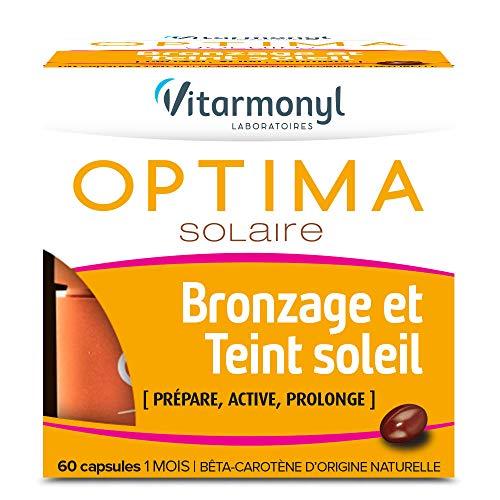 VITARMONYL - Optima Solaire - Prépare, Active, Prolonge le Bronzage - 60...