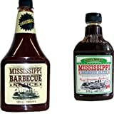 Mississippi Barbecue Grill Sauce 'Original & Sweet Apple', 1560ml + 440ml (Doppelpack)
