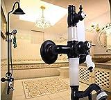 GZF Hochwertige Dusche Armaturen Setzen Mixer Duschwanne Regendusche in Rutsche Bar großen Duschkopf Gesetzt