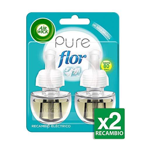 Air Wick Ambientador Eléctrico Recambio Duplo Flor, 2 x 19 ml -...
