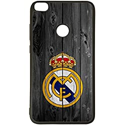 Carcasas para moviles Funda para movil de tpu compatible con huawei p8 lite 2017 real madrid