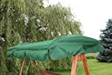 Ersatzdach für 2-Sitzer Garten- oder Hollywoodschaukel in Grün - IMC465 grün