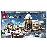 LEGO Creator 10259 Giocattolo da costruzione-Stazione ferroviaria invernale