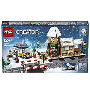 LEGO Creator 10259 Giocattolo da costruzione-Stazione ferroviaria invernale  LEGO