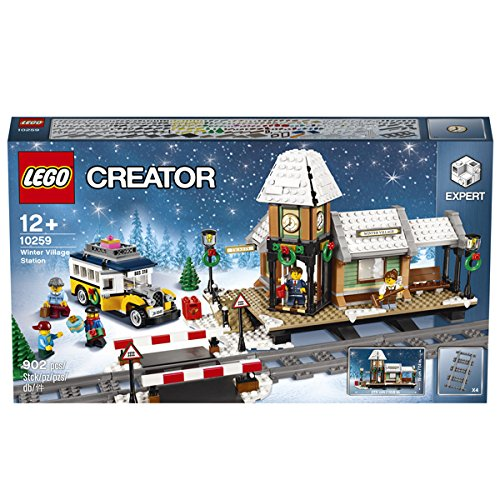 LEGO Creator Expert Winterlicher Bahnhof 10259 (Lego Bahnübergang)