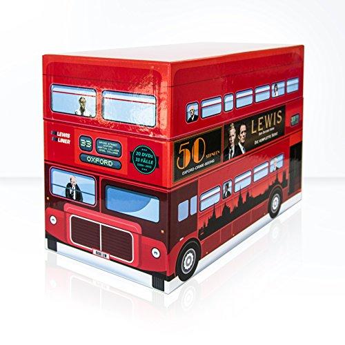 Lewis - Der Oxford Krimi Gesamtbox, limitierte Sonder-Edition [21 DVDs] Motion Oxford
