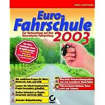 Euro-Fahrschule 2003, 1 CD-ROM Zur optimalen Vorbereitung auf die theoretische Führerscheinprüfung. Für Windows 95/98/NT 4/2000/Me/XP