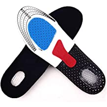 Plantilla para zapatos deportivos,EVA transpirable absorción de golpes, longitud completa, almohadilla para