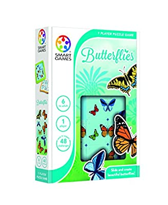 Smartgames - SG 439 - Butterflies - Jeu de Réflexion de Logique et d'Anticipation
