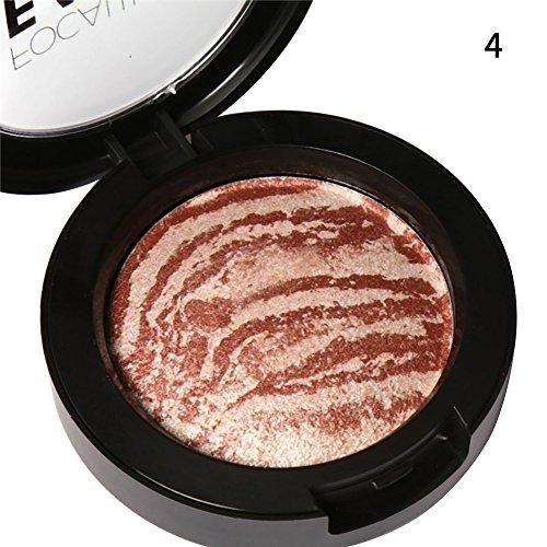 Etosell 6 Beaute Couleur Fard A Joues Poudre Bronzante Joue Visage Maquillage Palette