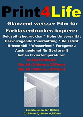 50-feuilles-de-format-a4-revtement-spcial-rsistant-la-dchirure-brillant-film-blanc-opaque-bilatrale-