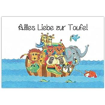 Taufkarte Din A4 Karte Zur Taufe Glückwunschkarte Dir Soll