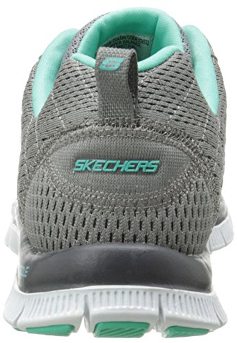 Skechers Flex Appeal-Obvious Choice, Scarpe da Ginnastica Basse Donna Grigio (gytq)