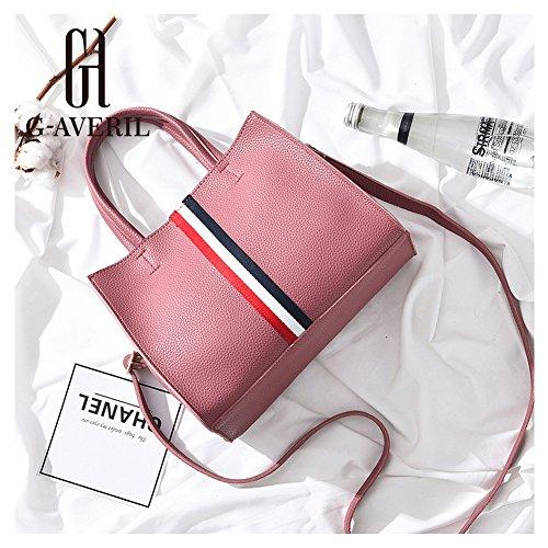 (G-AVERIL)nuovo pacchetto onda signore borsa Messenger Bag donne per le donne borsa rosa