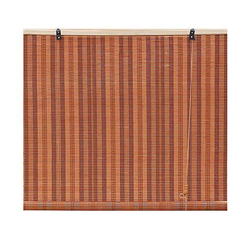 Tenda di bambù tapparelle in bambù/persiane verticali/veneziane in bambù con tiretto laterale, adatto per balcone, divisorio, casa da tè, uffici, cortina personalizzabile tende a rullo