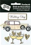 DIY Luxus- 3D-Sticker Hochzeit Glitter