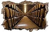 Fass Whisky Fasslagerung Wandtattoo Wandsticker Wandaufkleber D0842 Größe 120 cm x 180 cm