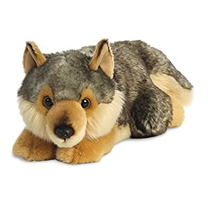 Peluches loup