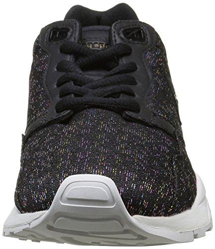 Le Coq Sportif Damen LCS R900 Rainbow Sneaker Schwarz (BlackBlack)