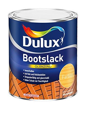 Preisvergleich Produktbild AKZO NOBEL (DIY DULUX) Bootslack glänzend 0,375 L, farblos, 5195009