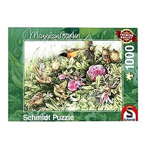 Schmidt Spiele Puzzle 59571manjares. En la Pradera, Marjolein Bastin, Rompecabezas, 1000Piezas