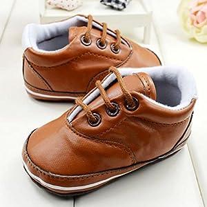 Froomer Zapato Unisex de Cuero PU Zapatos Niños Deportes Suave Zapato Infantil Preandador Primeros Pasos