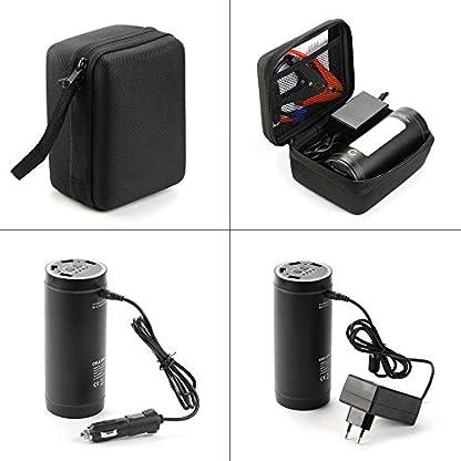 51WYeDyoBQL. SS416  - CELLONIC® 12V Arrancador de Coche, Jump Starter - 4en1: 12000mAh Powerbank (4X USB, 5A MAX.), Panel LED, Función calefacción - Batería Externa, USB Cargador batería vehículos, Arrancador de Autos