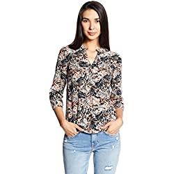 Vero Moda Women's Body Blouse Top (10178638_Nostalgia Rose_S)