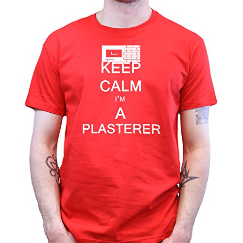 Keep Calm I'm a Plasterer Building Contractor T-shirt Rot