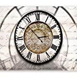 murando - Fototapete 400x280 cm - Vlies Tapete - Moderne Wanddeko - Design Tapete - Wandtapete - Wand Dekoration - Zeit Uhr Clock 10110905-100
