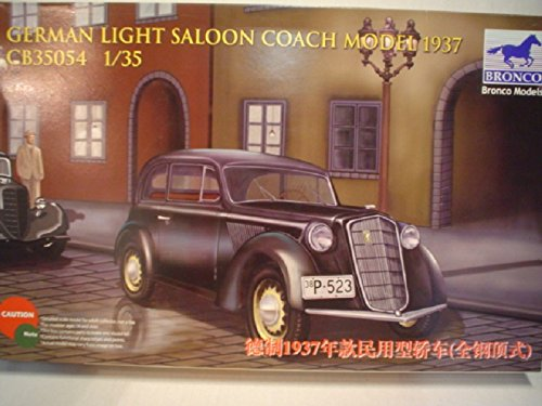 bronco-models-cb35054-maqueta-de-german-light-saloon-coach-mod1937