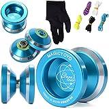 XCSOURCE® N8 instable magic YOYO en alliage d'aluminium yo yo bobine Roulement + 5 Cordes + Gants TH107