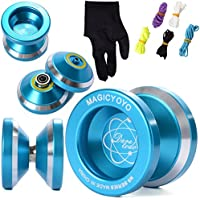 XCSOURCE® N8 instable magic YOYO en alliage d'aluminium yo yo bobine Roulement + 5 Cordes + Gants TH107