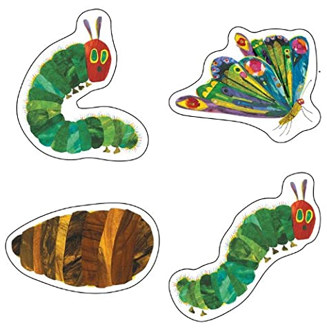 The Very Hungry Caterpillar(tm) 45th Anniversary Cut-Outs (The World of Eric Carle) (Cut Accent)