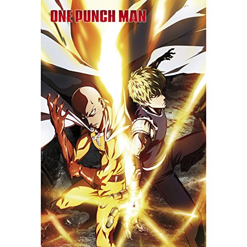 ABYstyle - One Punch Man - Poster Saitama & Genos (91.5x61cm)