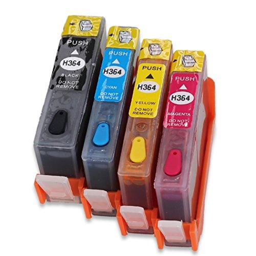 hemei @ 364Full nachfüllbar Tintenpatrone für HP 364Tinte, Verwendung für HP Photosmart...