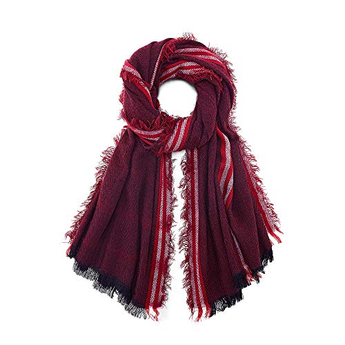 Cox Erwachsene (Unisex) Trend-Schal Rot 1