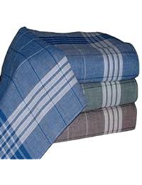 Tobeni® 20 Les mouchoirs des hommes pour un travail de l'Arabie bleu marron vert 40 x 40 cm