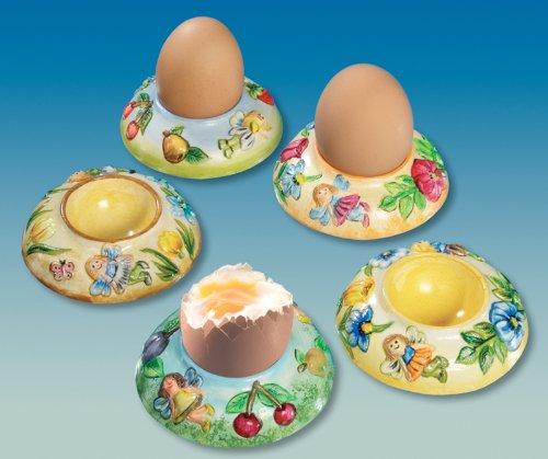 Gießform Eierbecher 'Elfen' 3 Motive