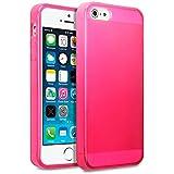 Terrapin Coque en Gel TPU pour iPhone 5S, Rose vif, iPhone 5