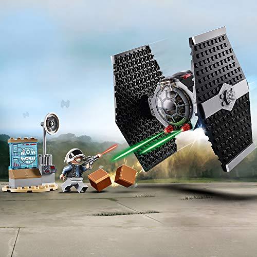 LEGO® Star WarsTM L'attaque du chasseur TIE Jeu de construction, 4 Ans et Plus, 77 Pièces 75237