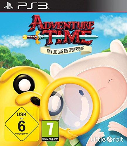 Adventure Time - Finn und Jake auf Spurensuche - [PlayStation 3] (Kinder-spiele Für Ps3)