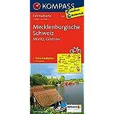 Mecklenburgische Schweiz - Müritz - Güstrow: Fahrradkarte. GPS-genau. 1:70000 (KOMPASS-Fahrradkarten Deutschland, Band 3021)